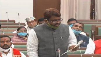 AIMIM के विधायक ने शपथ में हिंदुस्तान बोलने से किया इनकार, उर्दू में 'भारत' शब्द के साथ अख्तरुल इमान ने ली शपथ