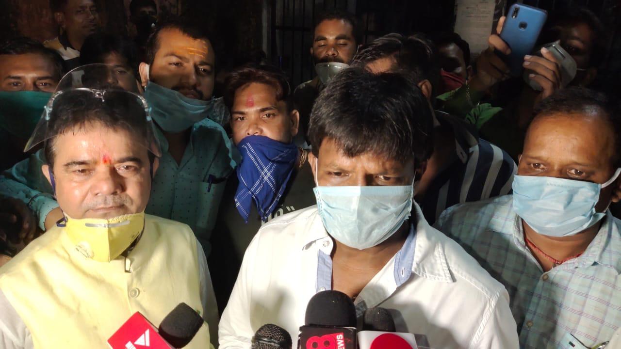 विधायक ढुल्लू महतो को महिला नेत्री यौनशोषण केस में जमानत,जेल से निकले, समर्थकों की जुटी भीड़